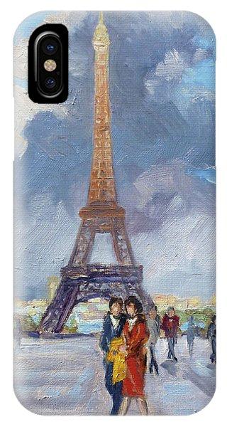 Paris Eiffel Tower IPhone Case