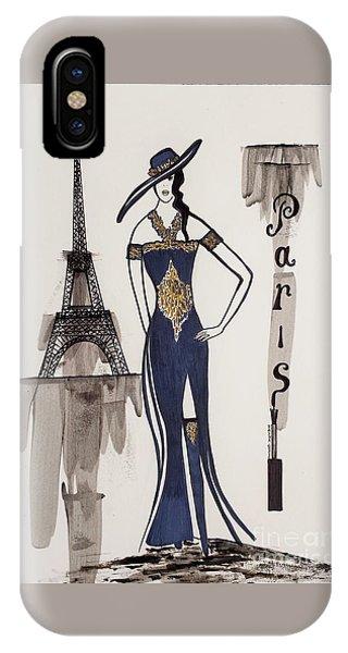 Paris Fashion IPhone Case