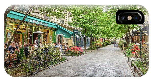 Paris In The Spring  IPhone Case