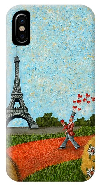 Paris Je T Aime IPhone Case