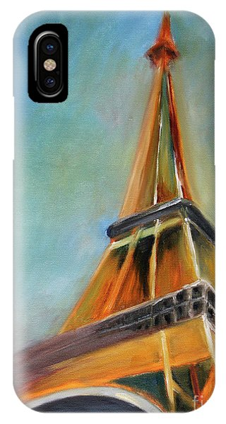 Paris iPhone Case - Paris by Jutta Maria Pusl