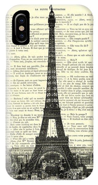 Paris iPhone Case - Paris, Love France by Madame Memento