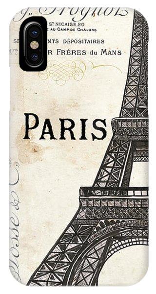 Construction iPhone Case - Paris, Ooh La La 1 by Debbie DeWitt