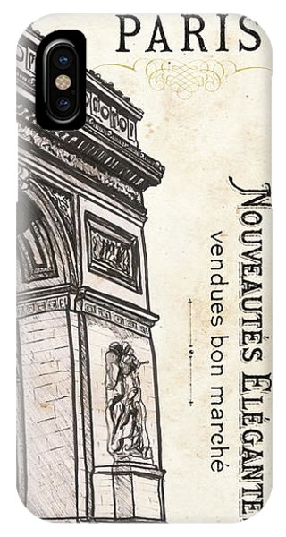 Attraction iPhone Case - Paris, Ooh La La 2 by Debbie DeWitt