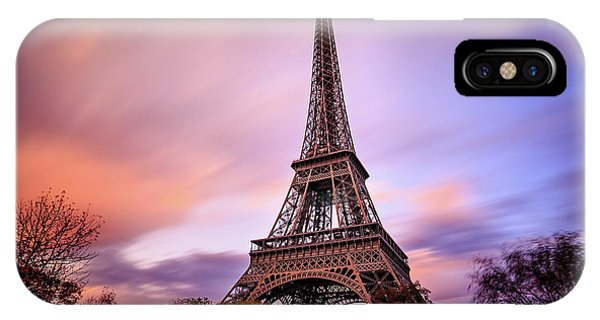 Paris Pastels IPhone Case