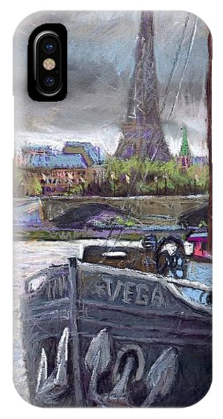 Pastel iPhone Case - Paris Pont Alexandre IIi by Yuriy Shevchuk