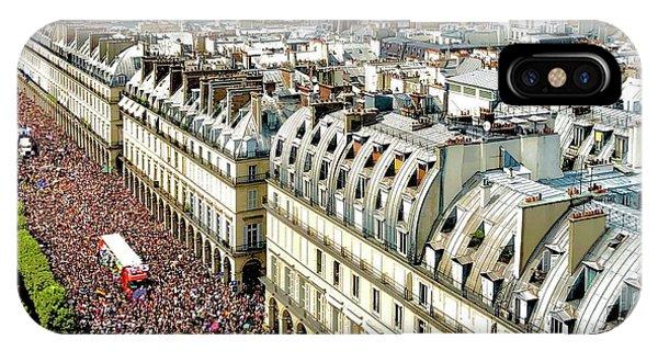 Paris Pride March 2018 IPhone Case
