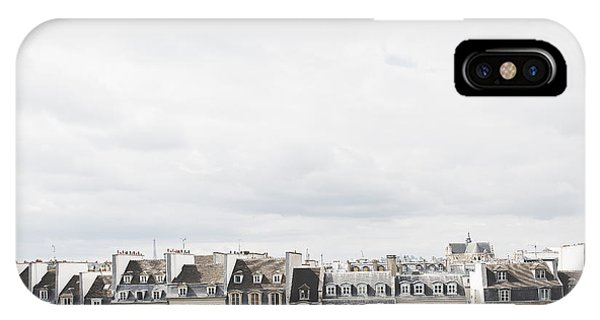 Amazing iPhone Case - Paris Rooftops View From Centre Pompidou by Ivy Ho