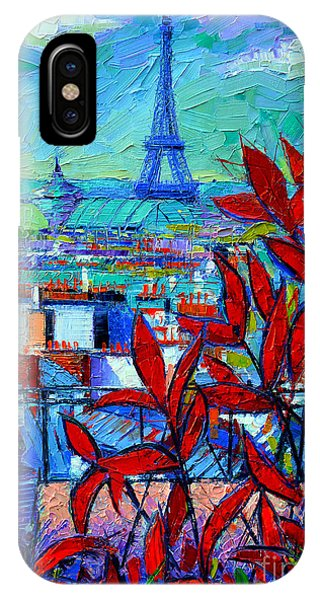 Paris Rooftops - View From Printemps Terrace   IPhone Case