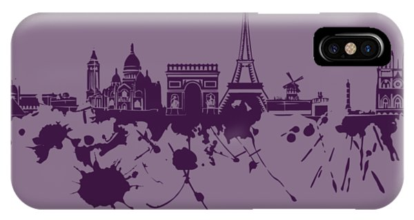 Paris Skyline.1 IPhone Case
