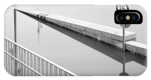 Flooded iPhone Case - Paris Spring 2016 by Delphimages Photo Creations