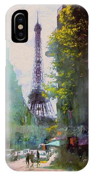 Paris Street IPhone Case