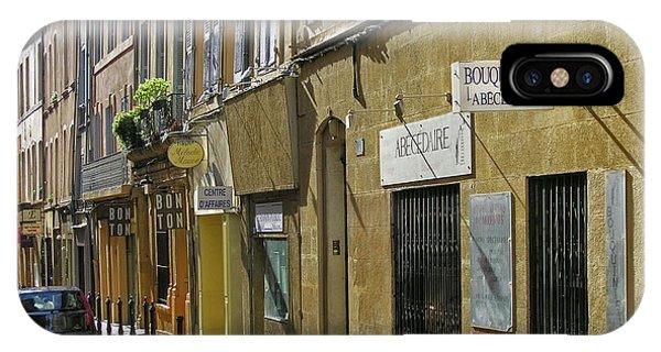Paris Street Scene IPhone Case