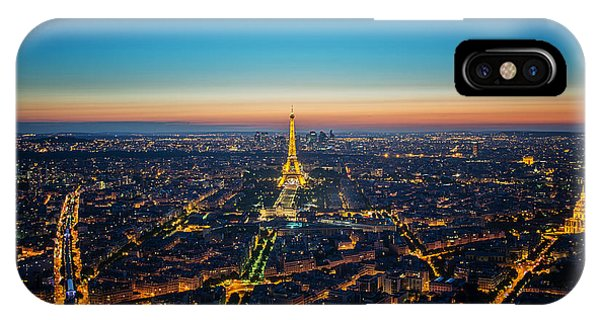 Paris Sunset Phone Case by Ryan Wyckoff