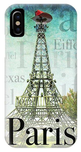 Paris Texas Style IPhone Case