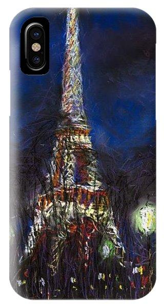 Pastel iPhone Case - Paris Tour Eiffel by Yuriy Shevchuk