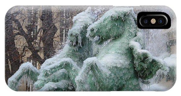 Paris Winter IPhone Case