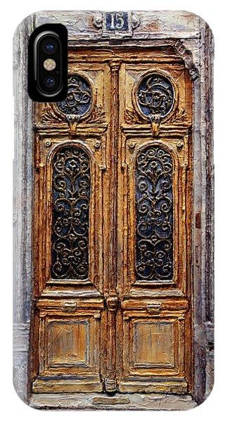 Parisian Door No. 15 IPhone Case