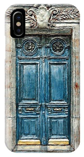 Parisian Door No. 3 IPhone Case