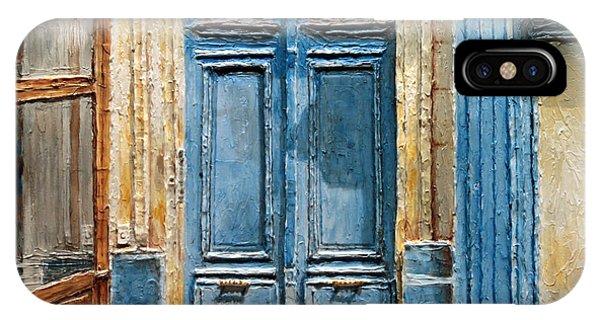 Parisian Door No.36 IPhone Case