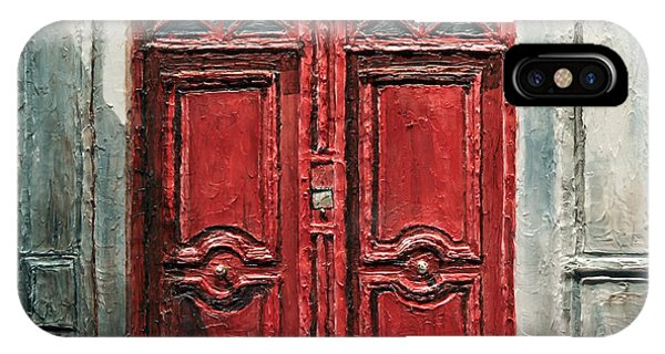 Parisian Door No.9 IPhone Case