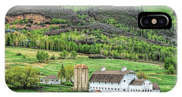 Park City Utah Barn IPhone Case