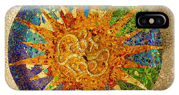 park Guell, Barcelona, Spain IPhone Case