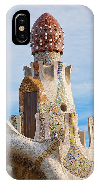 Park Guell Tower IPhone Case