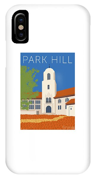 Park Hill Blue IPhone Case