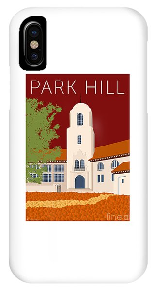 Park Hill Maroon IPhone Case