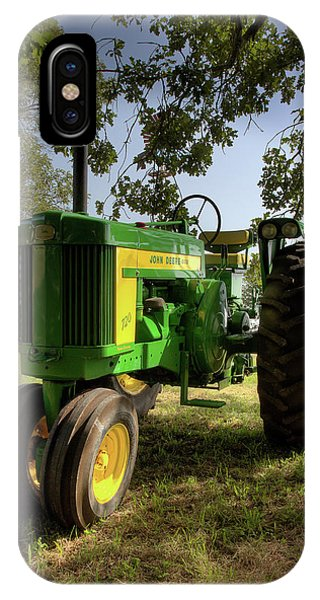 Parked John Deere 2 IPhone Case