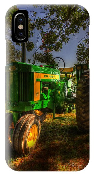 Parked John Deere IPhone Case