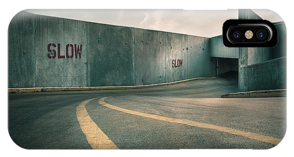 Zombies iPhone Case - Parking Garage At The End Of The World by Scott Norris