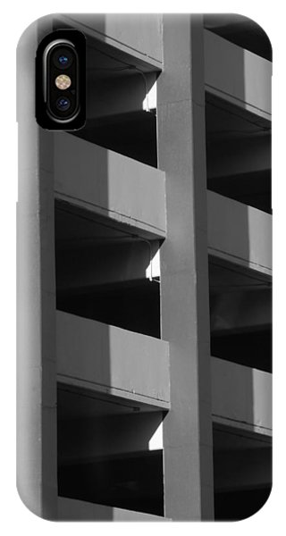 Parking Garage Milwaukee Abstract 2334 IPhone Case