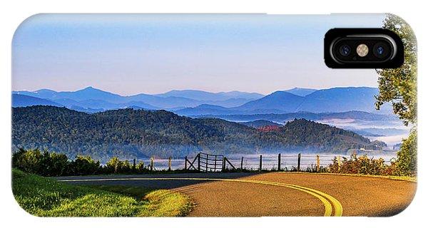 Parkway Morning Vista IPhone Case