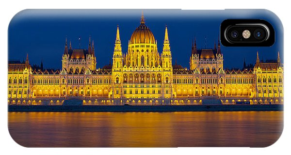Parliament On The Danube IPhone Case