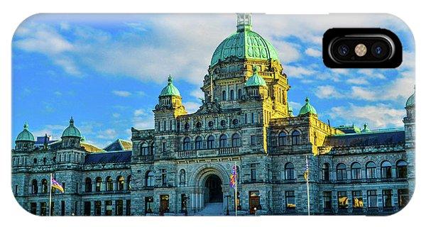 Parliament Victoria Bc IPhone Case