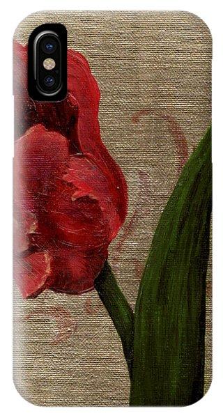 Parrot Tulip I IPhone Case