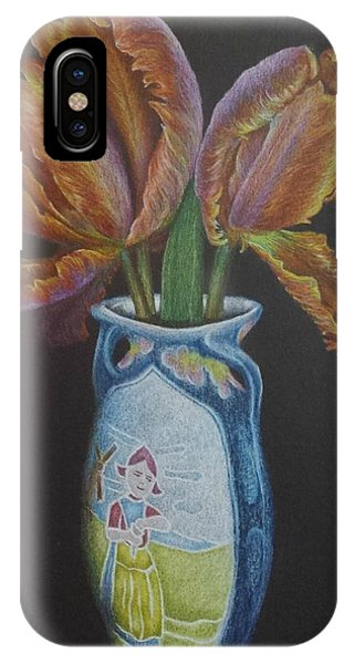 Parrot Tulips IPhone Case