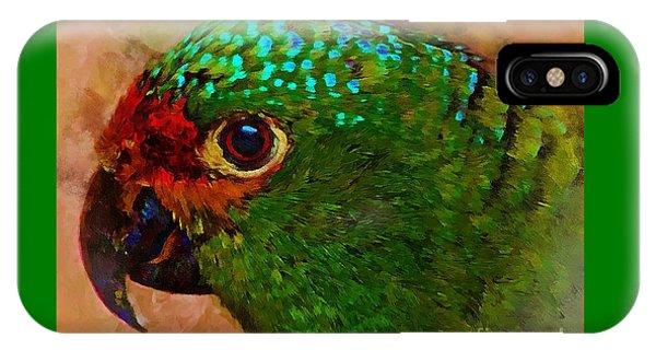 Parrote IPhone Case