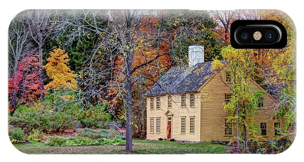 Parson Barnard House In Autumn IPhone Case