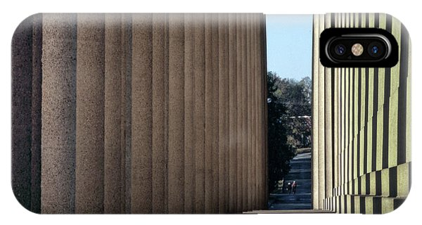 Parthenon Shadow Tunnel IPhone Case