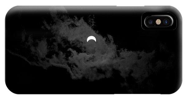 Partial Eclipse IPhone Case