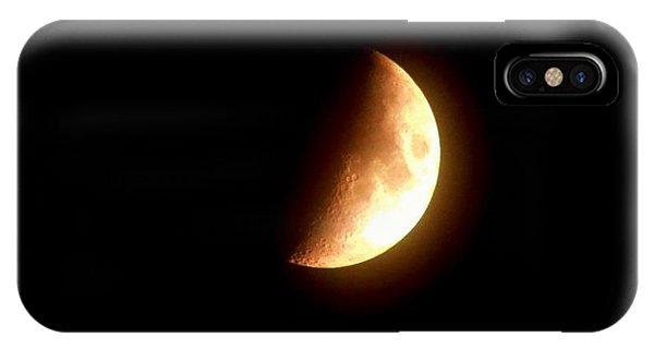 Partial Moon IPhone Case