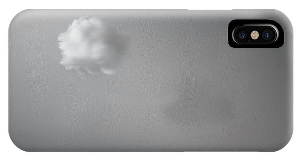 Indoors iPhone Case - Partly Cloudy by Scott Norris