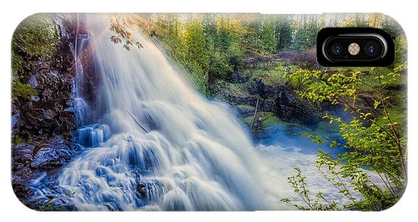 Partridge Falls In Late Afternoon IPhone Case