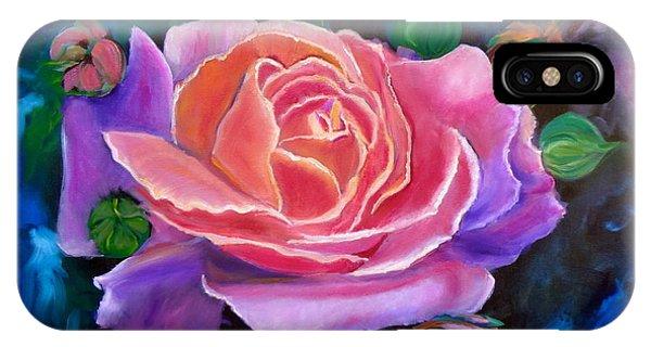 Gala Rose IPhone Case