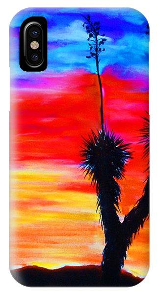 Paso Del Norte Sunset 1 IPhone Case