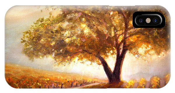 Paso Robles Golden Oak IPhone Case