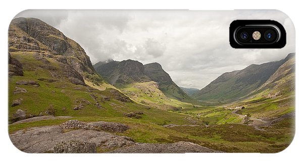 Pass Of Glencoe IPhone Case